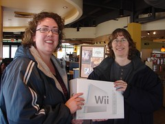 Naomi, our Wii winner