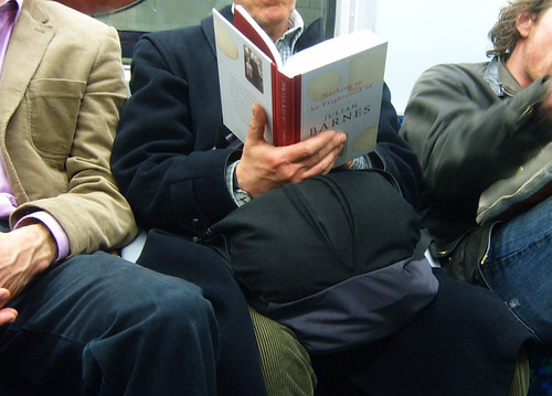 Reading Julian Barnes on the Tube