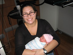 Eliara with Aunt Emily
