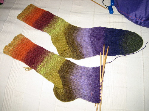 Noro nearly done