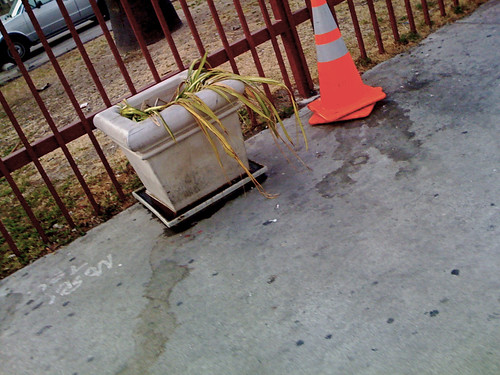 crappy planter on main