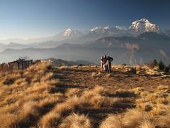 Poon Hill-Ghorepani Trek-Nepal (mikemellinger) Tags: nepal mountains scenery himalayas poonhill dhaulagiri ghorepani jomsomtrek tallestmountains