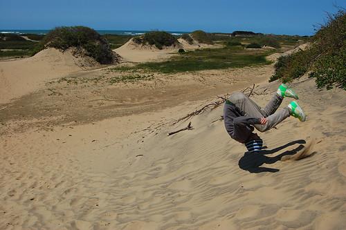 Sand Dunes Flipping