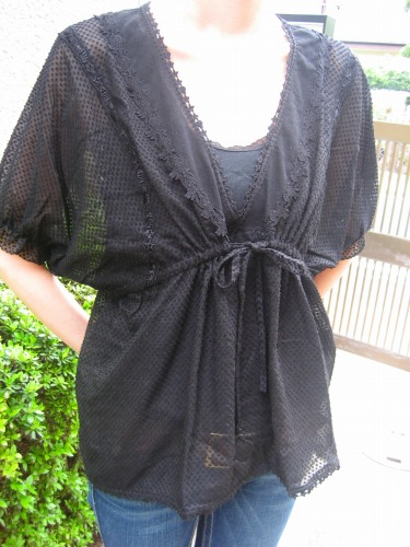 Tsumori's new blouse 2