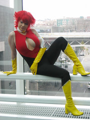 Cutey Honey 1 (heath_bar) Tags: seattle anime costume tv dvd cosplay manga saturday mostinteresting wa series animated 2008 redtop mostfavorites sakuracon yellowboots takenbyrich washingtonstateconventioncenter cuteyhoney