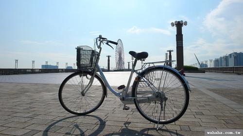 騎單車到台場