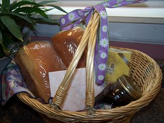Goodie basket from Julie @Three Fold Cord