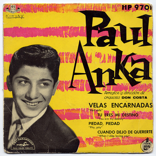 14- Paul Anka- España-1959-frontal