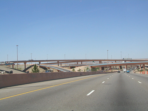 Albuquerque - I-40 and I-25 Interchange