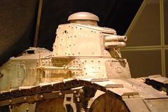 WWI Museum 3 - Restored Tank
