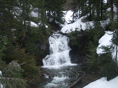 waterfall on Deroux Cr.