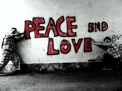 peace and love. the end | Flickr - Photo Sharing!