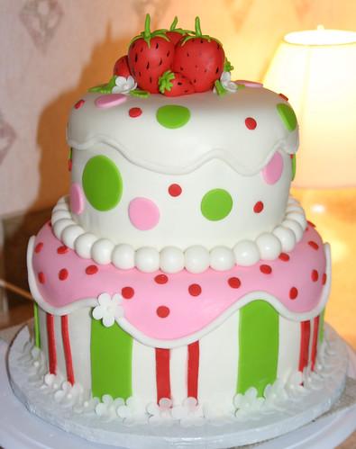 Strawberry Shortcake Cake 1