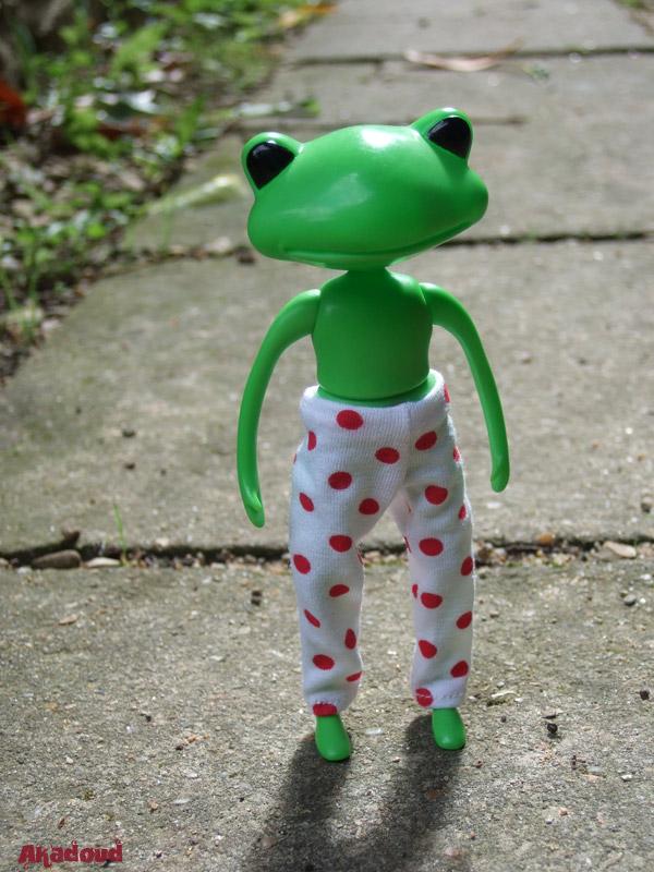 My Wonder Frog... Nels... à la plage... p3 2594289567_01e274616d_o