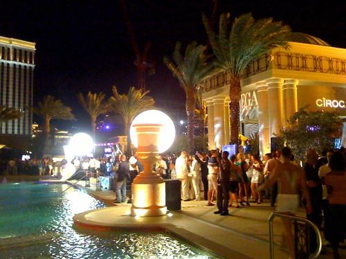 Vegas magazine party