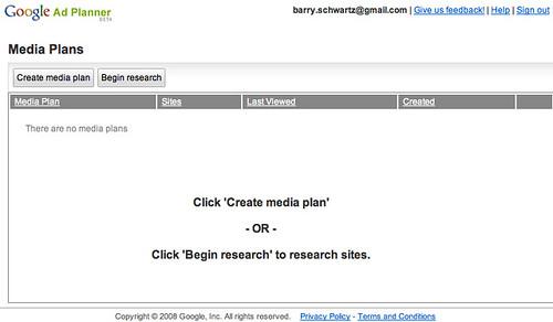 Google Ad Planner 1