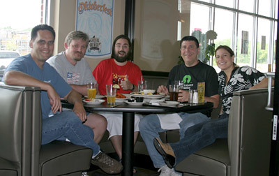 Me in NC with the Guys from OpenNMS