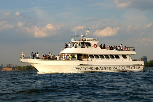 New York Health & Raquet Club Yacht Cruising New York Harbor