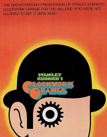 1971 A Clockwork Orange Movie Poster