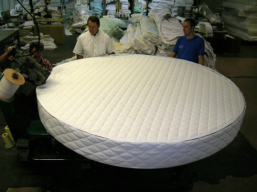 Round Bed by Rocky Mountain Mattress