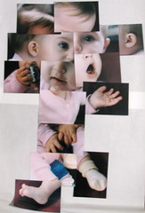 baby Q photo collage