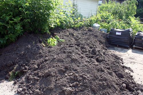 Lots of Dirt.