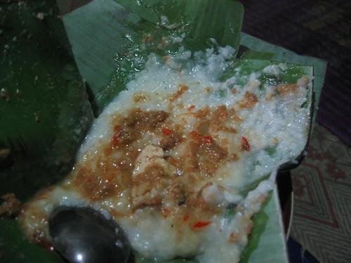 bubur sambal tumpang