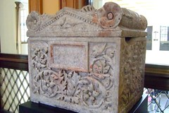 Cremation Chest (cinerarium) Roman 20-40 CE Marble