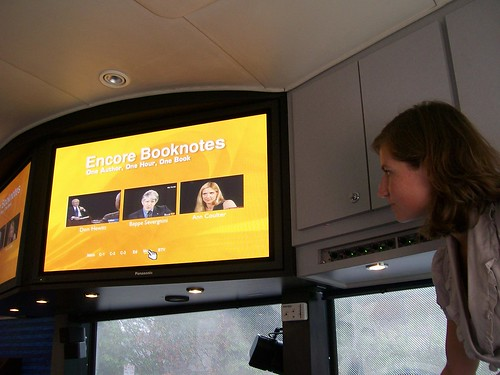 C-SPAN Campaign 2008 bus