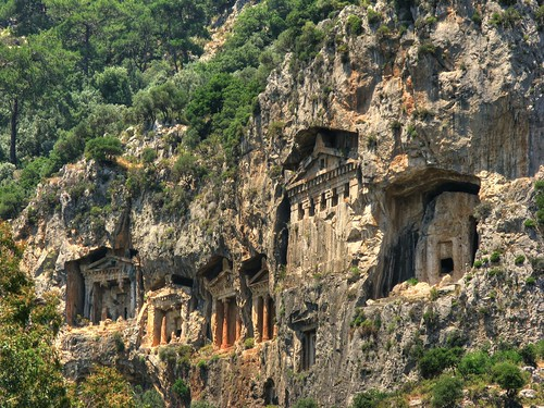 Dalyan Tombs 2 by John T100.