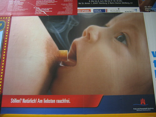 BREASTFEEDING? NATURALLY! BEST IF YOU'RE NOT SMOKING.