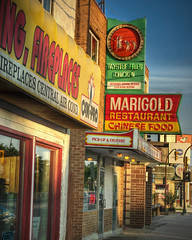Marigold (bryanscott) Tags: sign vintage typography restaurant winnipeg chinese manitoba signage type marigold typog