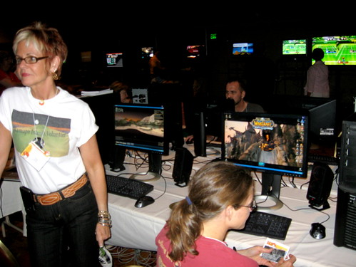Educators Test Drive Games at the GLS Arcade - GLS 2008