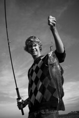 Bendik The Fisherman (Stavelin) Tags: portrait bw fish norway cod risr fisk fiske torsk stavelin canoneos30d the99 bildekritikk roarstavelin canonefs24105mmf4lisusm
