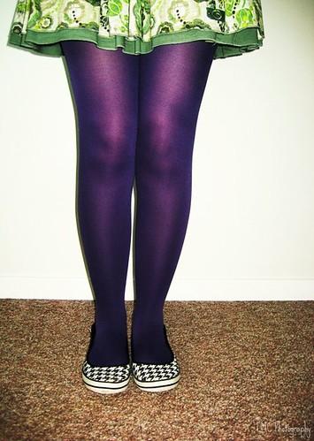 Violet legs.