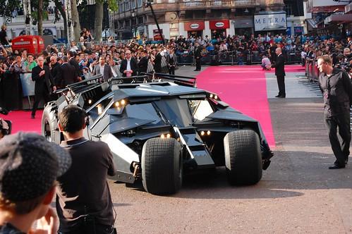 The Dark Knight European Premiere