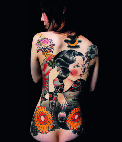 Modern Japanese Tattoos