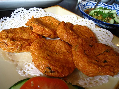 Thord Mun Pla - Thai Fried Fishcake
