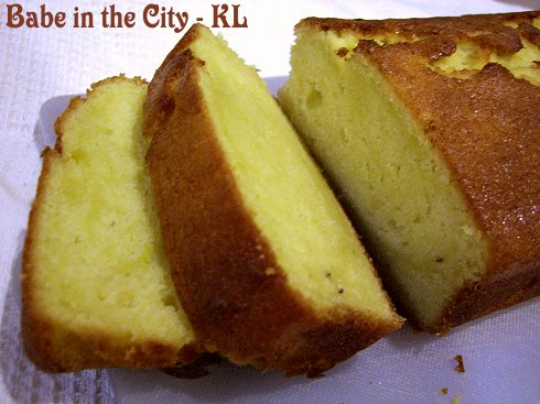 Durian Butter Cake Recipe Singapore