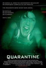 Póster y trailer (sin censura) de 'Quarantine', el remake USA de '[Rec]'
