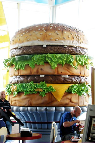 World's Largest Big Mac.