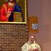 Fr. Kevin McGrath, OP, delivers Homily