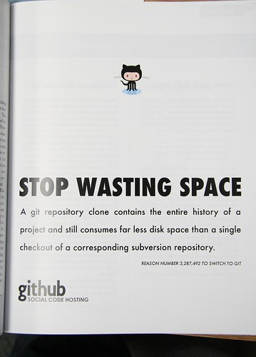GitHub Print Ad