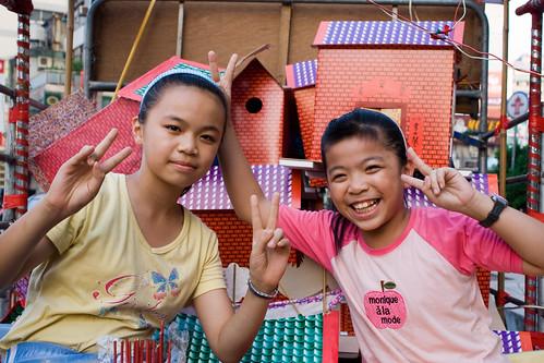 2008年 桃園中元祭 水燈