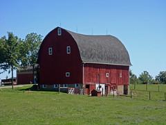 Imlay City Road Barn (Larry the Biker) Tags: summer barn rural michigan farm country farming ag agriculture redbarn imlaycity imlaytownship