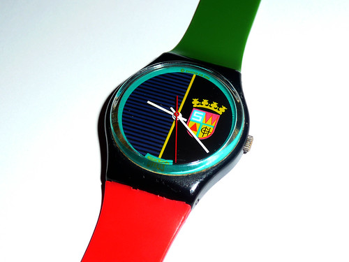 Sir Swatch by Laura Moncur from Flickr