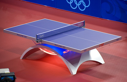Beau The Official Table Tennis Table (2008 Beijing China Olympics   Table Tennis)