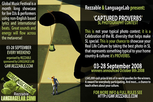 'Captured Proverbs' SL Photography Contest