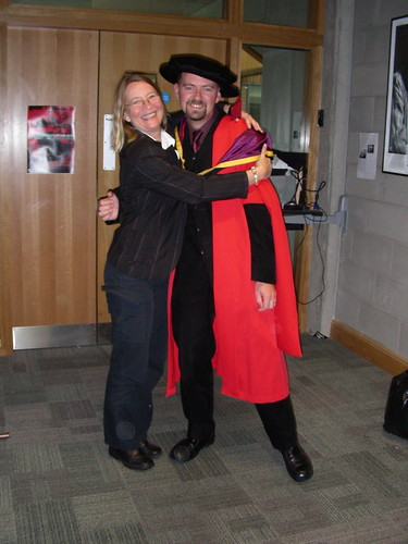 Dr. Ian O'Keeffe and Dr. Annette Aboulafia