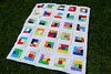 Bright Baby Quilt Top
